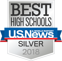 Best High Schools. U.S. News & World Report. Silver 2018